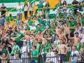 Фанаты Карпат подрались со стюардами в Мариуполе из-за российского флага
