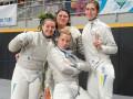 Украинские шпажисты и саблистки остались без медалей Кубка мира