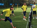 Селезнев и Бутко приняли участие в тренировке сборной Украины