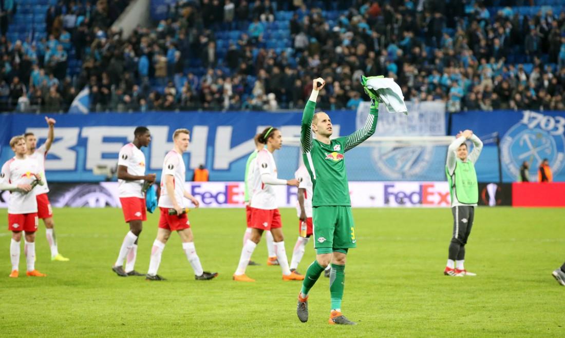 Лейпциг завоевал путевку в 1/4 финала Лиги Европы