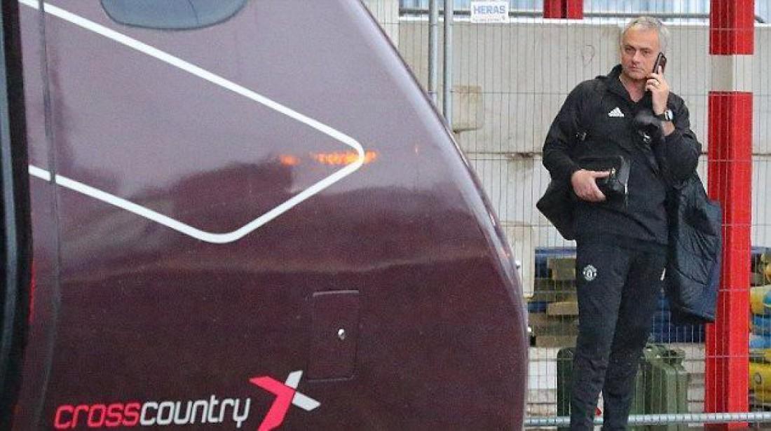 Жозе Моуринью вызвал собственный поезд