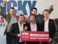 Братья Кличко и Сталлоне стали сопродюсерами мюзикла Рокки