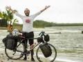 Египтянин отправился на велосипеде в Россию, чтобы поддержать свою сборную на ЧМ-2018