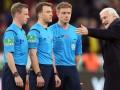 Судья матча Байер – Боруссия остановил игру и ушел с поля из-за матов