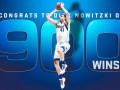 НБА: Новицки стал шестым игроком в истории, который достиг отметку в 900 побед