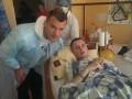 Ярмоленко навестил раненого бойца АТО