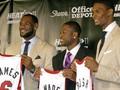 ЛеБрон, Уэйд и Бош подписали с Майами шестилетние контракты