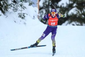 Меркушина и Пидручный заняли третье место в масс-старте Рождественской гонки