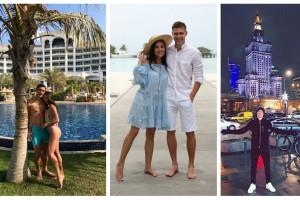 Дубай, Мальдивы и Варшава: где футболисты проводят зимний отпуск