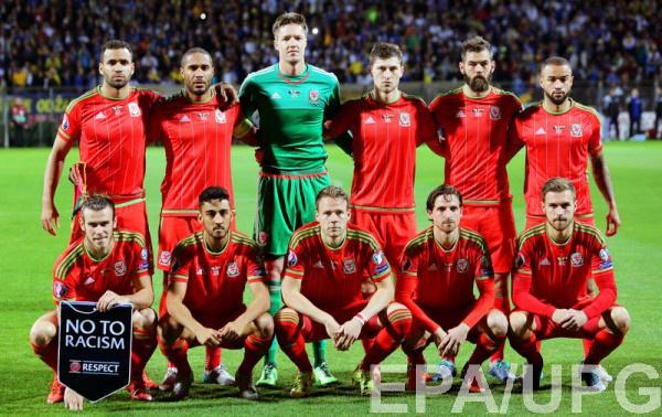 Участник Евро-2016 - сборная Уэльса
