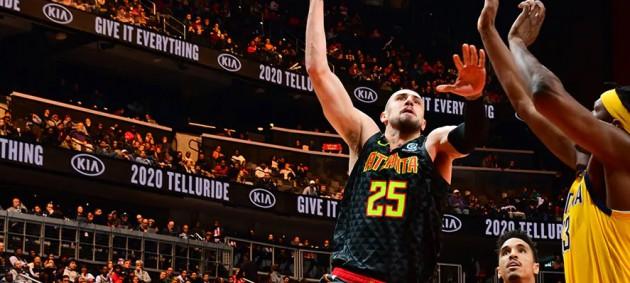 НБА: Лень не спас Атланту от поражения в матче с Индианой, Лейкерс обыграл Майами