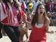 Болельщицы сборной Чили демонстрируют характер