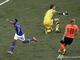 Робиньо забивает свой второй гол на Чемпионате
