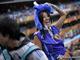 Поклонница сборной Японии берет экстравагантностью