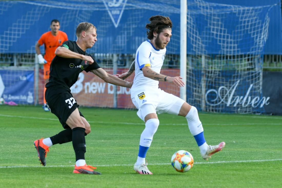 Георгий Цитаишвили в товарищеском матче против Вереса