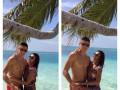Хачериди весело отдыхает на Мальдивах со своей девушкой (ФОТО)