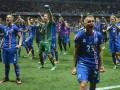 Игроки сборной Исландии феерично отпраздновали с фанатами выход в 1/4 Евро-2016