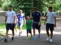 Динамо прогулялось по Львову в компании детей