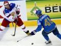 Казахстан - Россия 4:6 Видео шайб и обзор матча чемпионата мира по хоккею