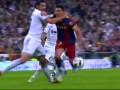 Реал vs Барселона. Удаление Альбиоля и забитый пенальти Месси