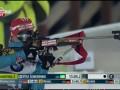 Серебряный спринт Виты Семеренко в Ханты-Мансийске