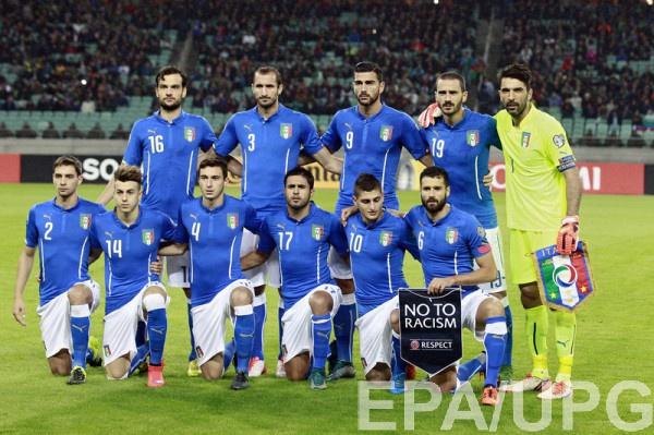 Участник Евро-2016 - сборная Италии