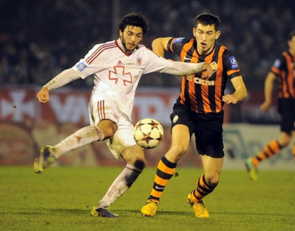 Редван Мемешев забил два гола в ворота Шахтера
