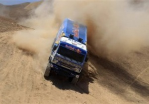 Дакар-2011: Чагин вернул себе лидерство в зачете грузовиков