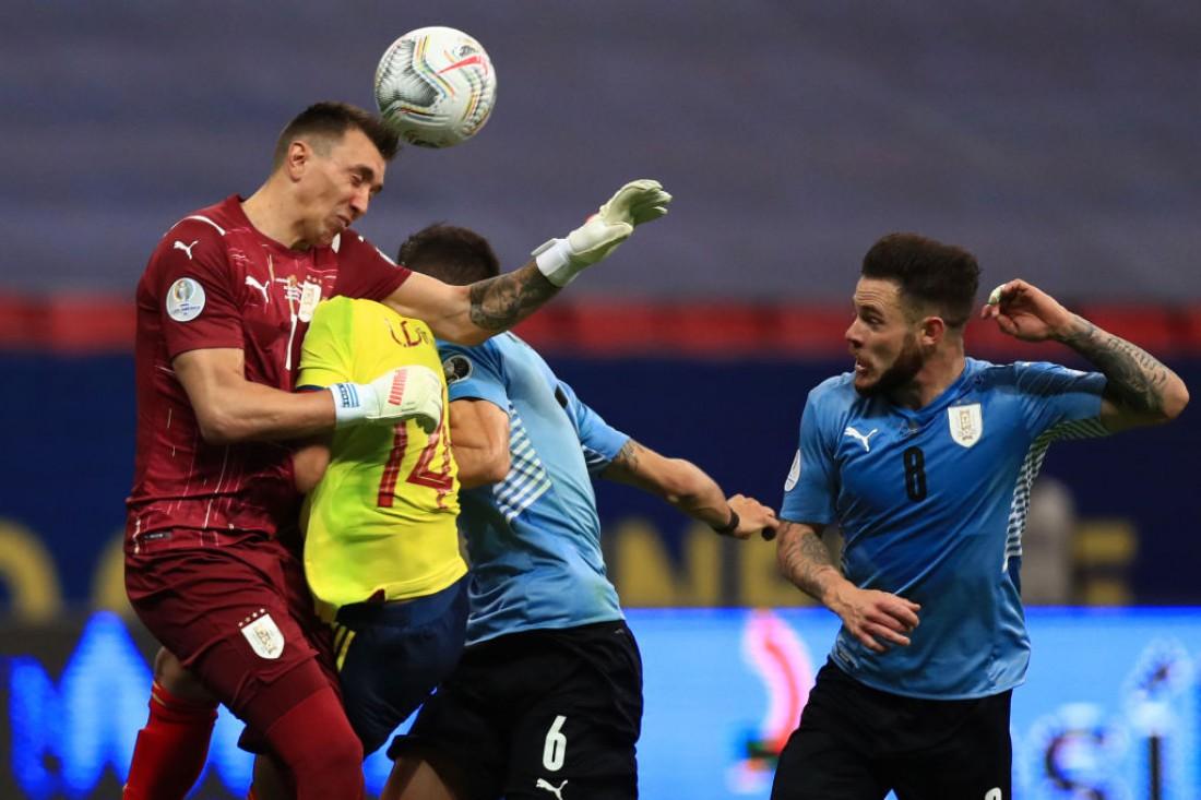 Уругвай - Колумбия: обзор матча