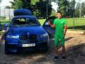 Футболист Днепра похвастался своей машиной с донецкими номерами (ФОТО)