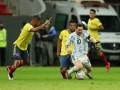 Аргентина - Колумбия 1:1 (3:2 по пен.) видео голов и серия пенальти матча Кубка Америки-2021