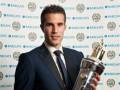 Ван Перси признали игроком года в Англии