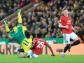 Манчестер Юнайтед впервые с февраля добился выездной победы в АПЛ
