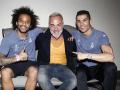 Танцующий миллионер пришел в гости к игрокам Реала, чтобы пожелать удачи
