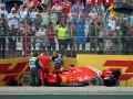 Феттель извинился за вылет на Гран-при Германии