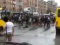 МВД: Все участники массовой драки фанатов в Киеве пока на свободе