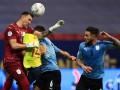 Уругвай - Колумбия 0:0 (2:4 по пен.) обзор и серия пенальти матча Кубка Америки-2021