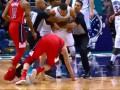Игроки Шарлотт и Вашингтона устроили потасовку в концовке матча