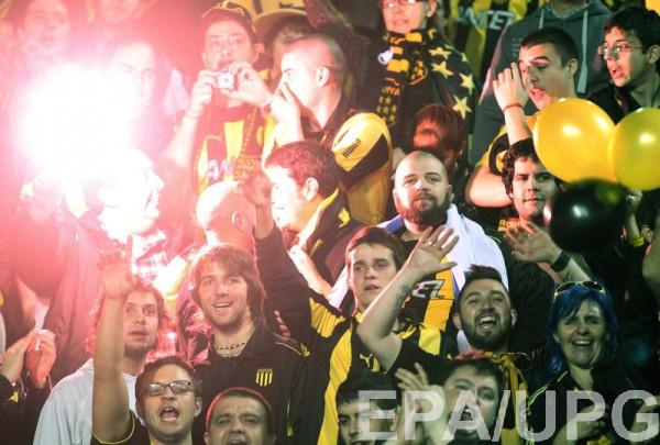 Фанаты уругвайского Пеньяроля