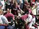 Молотобойцы празднуют гол КарлтонаКоула