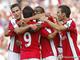 Арсенал в двух турах забил 10 голов