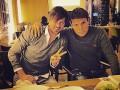Хлеба и зрелищ: Как Милевский и Вукоевич переживали за Динамо в поединке с Генгамом