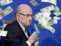 Блаттер: Почему никто не подозревает в налоговых махинациях Федерера?