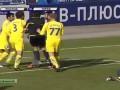 Жесткий стык вратаря Ростова с игроком, после которого ему удалили почку