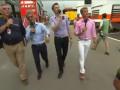 Пожар в боксах Williams после Гран-при Испании