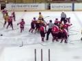Массовая драка в детском хоккее