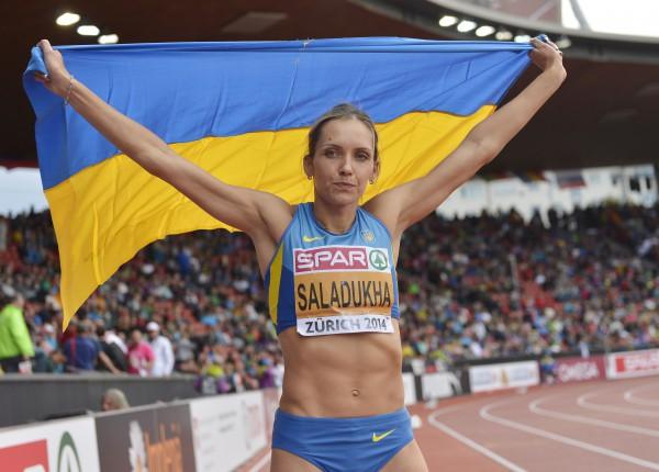 Ольга Саладуха выиграла золото на чемпионате Европы в Цюрихе