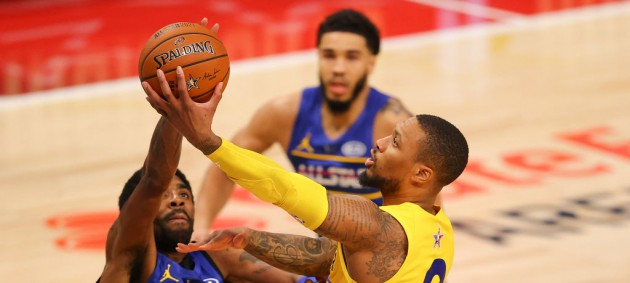 Матч всех Звезд NBA: команда Леброна не оставила шансов команде Дюранта