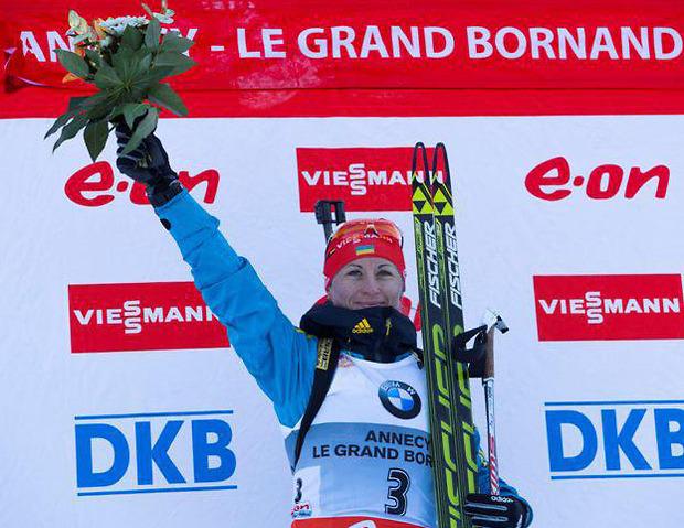 Вала Семеренко признана лучшей спортсменкой декабря