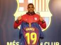 Боатенг получил игровой номер в Барселоне